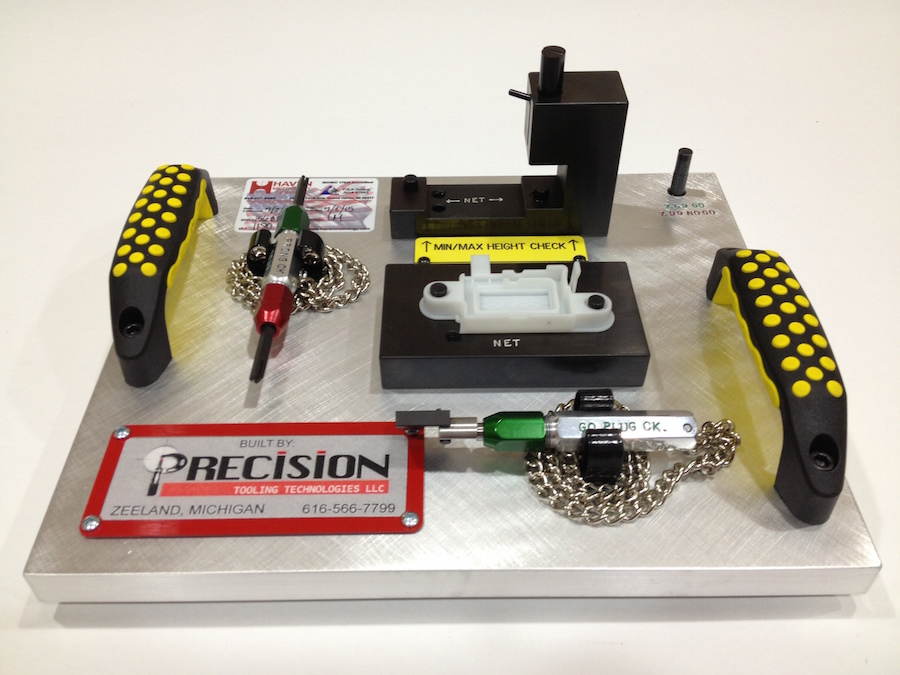 Precision Tooling Technologies Attribute Fixture